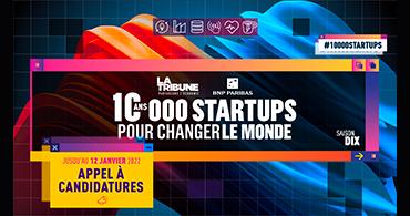 image à la une 10 000 Startups pour changer le monde